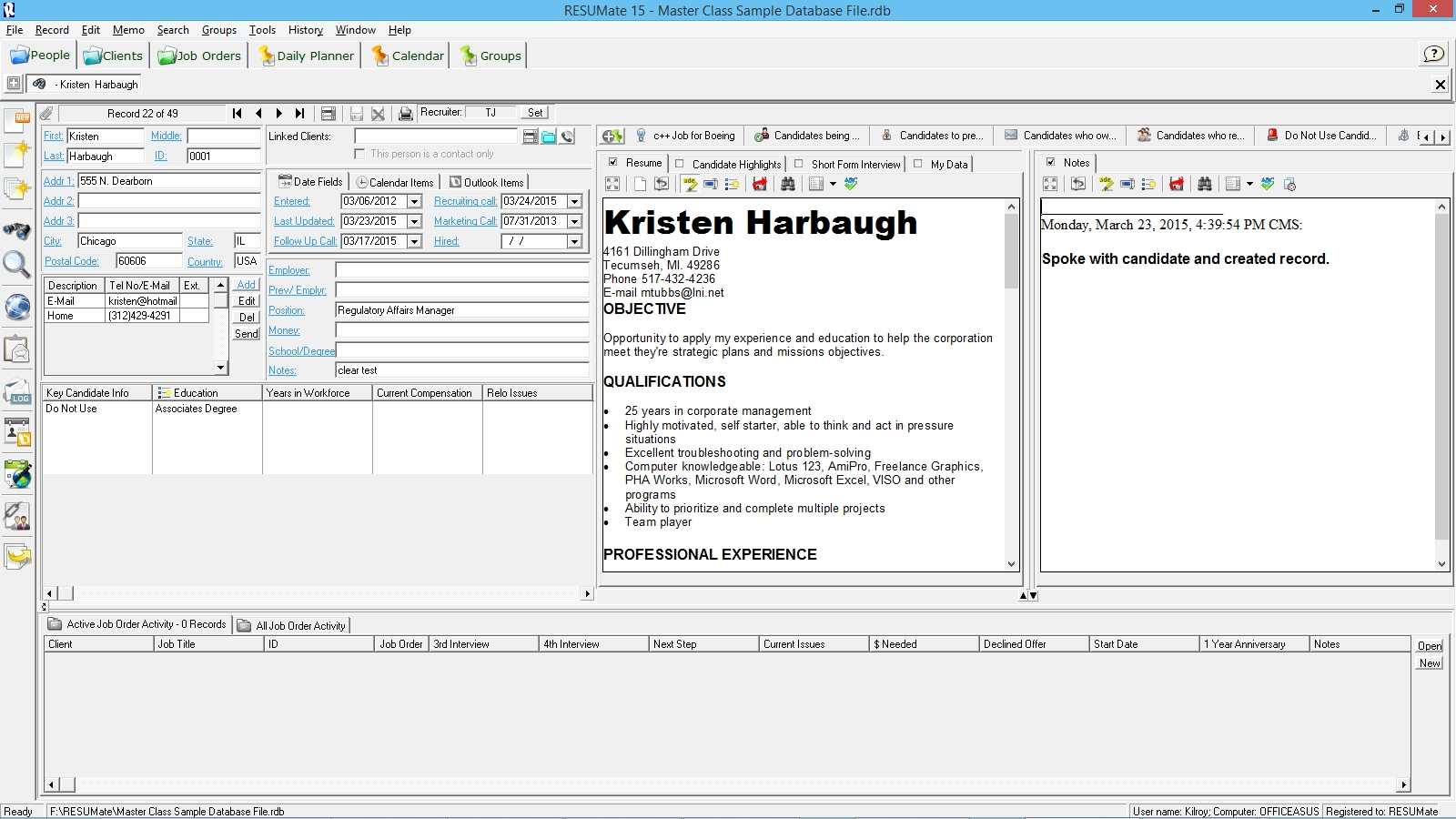 Resumate Inspiration 48 Building Your File By Creating Database Records from Resumes
