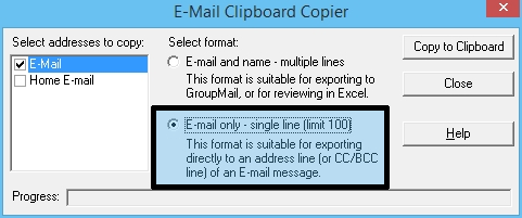 5 - E-mail Clipboard Outlook