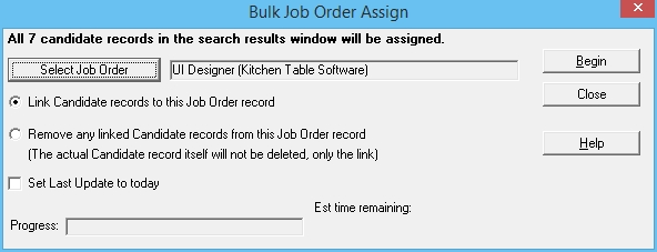 6 - Bulk Job Assign