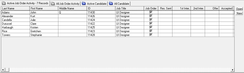 6 - Linked Job Activity